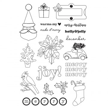 Make it Merry  - Stamps